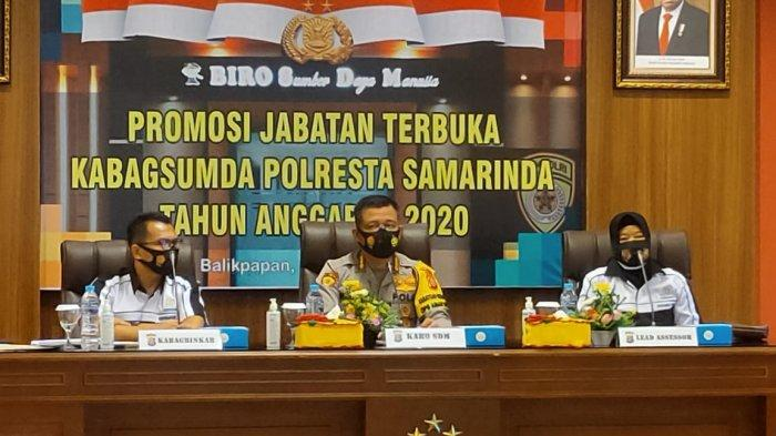 Polda Kaltim Lakukan Kegiatan Assessment Kabagsumda di Lingkungan Polresta Samarinda