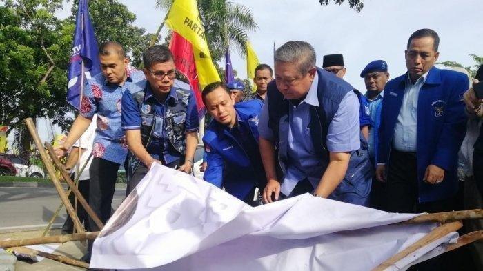 Perusakan Atribut Demokrat di Pekanbaru, SBY Yakin Jokowi Tak Terlibat