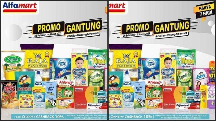 KATALOG PROMO Alfamart Senin 1 Maret 2021, Minyak Telon, Tisu Basah dan Pampers Anak Murah