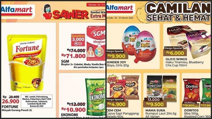 KATALOG PROMO Alfamart Jumat 26 Maret 2021, Belanja Kebutuhan Super Hemat Setelah Gajian