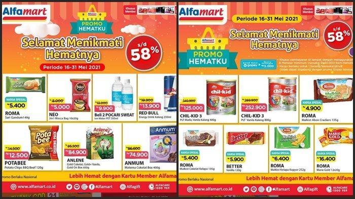 HARI TERAKHIR Katalog Promo Alfamart Senin 31 Mei 2021, Ada Promo Member Diskon hinggga 58 %