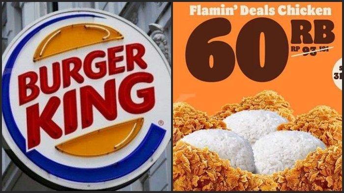 HARI TERAKHIR Katalog Promo Burger King Periode 1-31 Maret 2021, Makan Hemat Bersama Keluarga