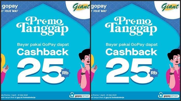KATALOG PROMO Giant Rabu 5 Mei 2021, Dapatkan Cashback Rp 25.000, Diskon Barang hingga 35 %