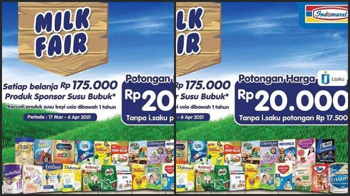 KATALOG PROMO Indomaret Kamis 25 Maret 2021, Beli 2 Jadi Hemat dan Dapatkan Potongan Rp 20.000