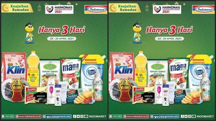 KATALOG PROMO JSM Indomaret Sabtu 24 April 2021, Belanja Kebutuhan Ramadhan Hemat di Akhir Pekan