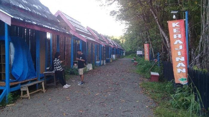Pelaku Usaha UMKM dan Kesenian di Kawasan Wisata Mangrove Tarakan Sepi Pembeli