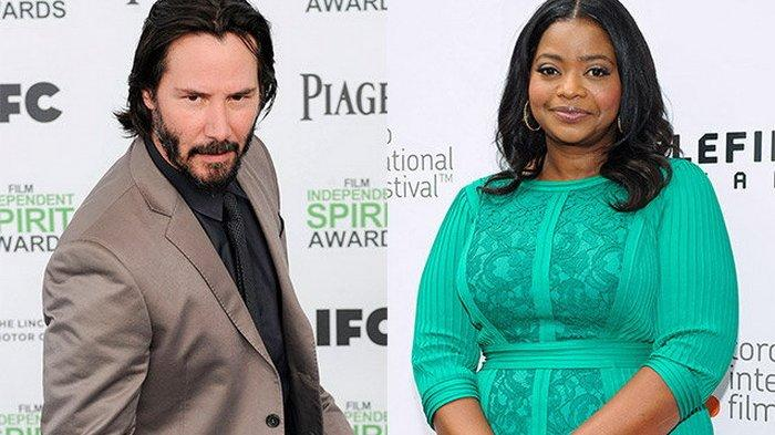 Aktris Peraih Oscar Octavia Spencer Ungkap Saat yang Lain Cuek, Keanu Reeves Dorong Mobil Mogoknya