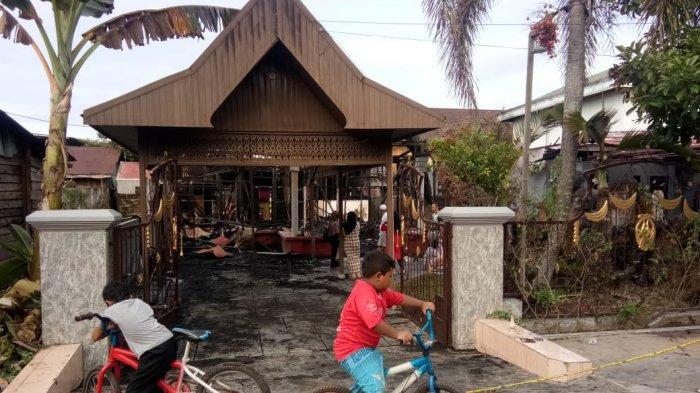 Korban Kebakaran di Jalan Patin Kuning Kutai Kartanegara Minim Bantuan
