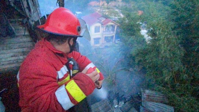 Kebakaran Terjadi Lagi, Sebuah Mess Perusahaan di Balikpapan Dilalap Jago Merah