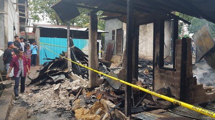 BREAKING NEWS  Kebakaran Lahap Rumah Warga di Bontang Koala, 1 Orang Meninggal