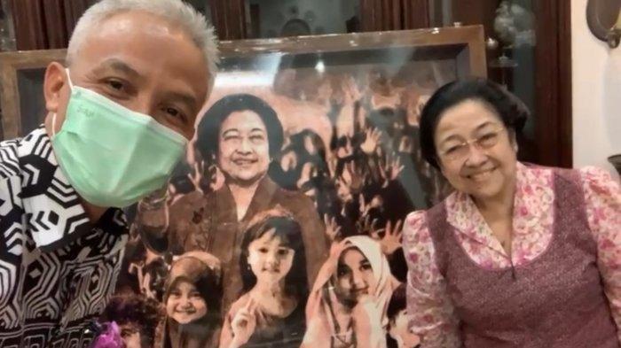 Kebersamaan Ganjar Pranowo dan Megawati sebelum dikucilkan PDIP