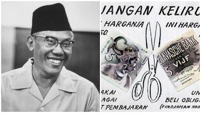 Sejarah Hari Ini: 10 Maret, 69 Tahun Lalu Gunting Syafruddin Hebohkan Indonesia