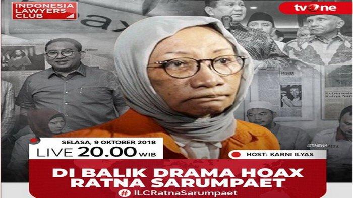 Ratna Sarumpaet Keluhkan Ruang Tahanan tak Layak, Begini Kata Kabid Humas Polda Metro Jaya