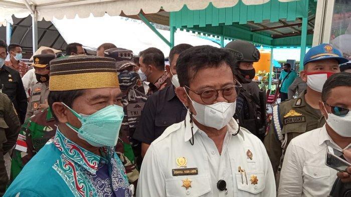 Program Food Estate di Bulungan Kaltara, Menteri Syahrul Yasin Limpo: Jangan Menghayal