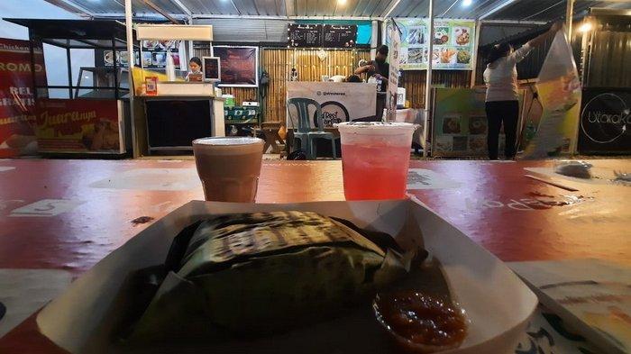 Gurihnya Nasi Bakar Ayam Suwir Dr Food D'Rest Area Marimar, Cicipi juga Sate Taichan, Cocok di Lidah