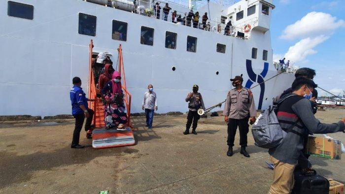Bawa 225 Penumpang, KM Prince Soya Tiba di Pelabuhan Samarinda, Besok Kapal Tak Lagi Beroperasi