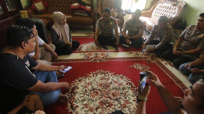 Gali Informasi Tambahan, Kapolresta Samarinda Temui Orangtua Ahmad Yusuf Ghozali