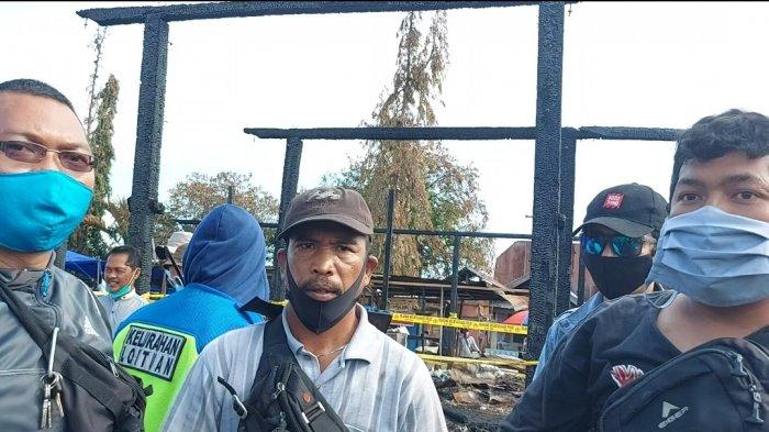 Sejumlah Saksi Kebakaran Pasar Loktuan Protes, Tim Polres Bontang Keliru Tentukan Titik Awal Api