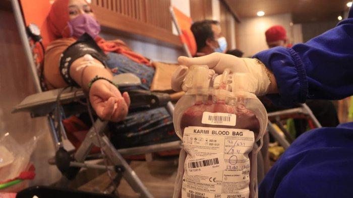Stok Darah Kian Menipis di UDD PMI Samarinda pada Minggu 18 Juli 2021