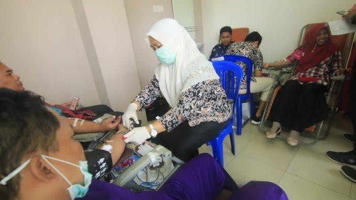 RSUD IA Moeis Donasikan 48 Kantung Darah, Masyarakat Berharap Pelayanan Semakin Baik