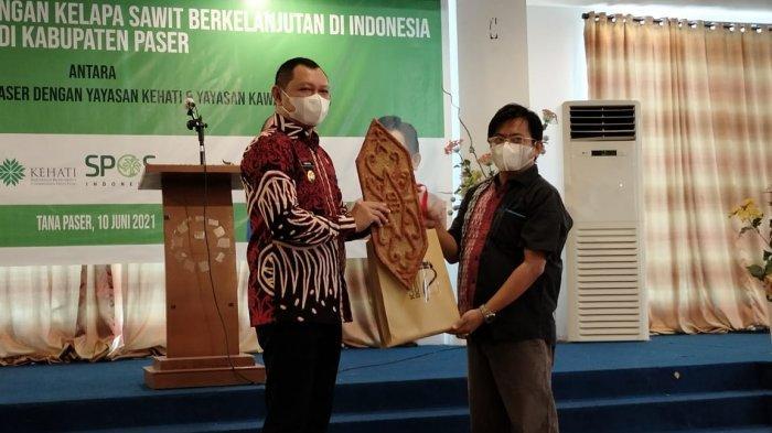 Bupati Fahmi Fadli Ingin Kelapa Sawit jadi Sektor Andalan Paser sebagai Penyangga Ibu Kota Negara