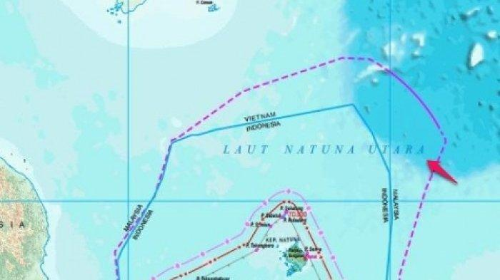 Pelanggaran di Laut Natuna Mulai Marak, Sejak 5 Bulan Terakhir Sering Ada Kapal Vietnam Mencuri Ikan