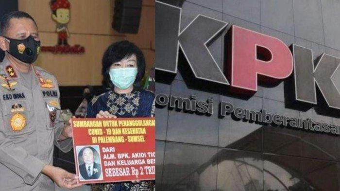 Akidi Tio Sumbang Rp 2 Triliun untuk Penanganan Covid-19 di Sumsel, KPK Imbau Dikelola Transparan