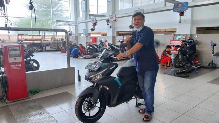 Sekeluarga Suka Yamaha, All New Aerox pun Jadi Pilihan