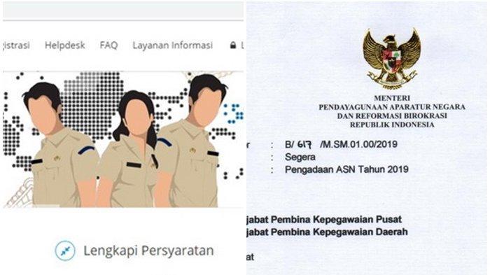 Pelamar P3K/PPPK 2019 Bisa Sekaligus Ikut CPNS 2019? Begini Kata BKN, Cek Dokumen yang Dibutuhkan
