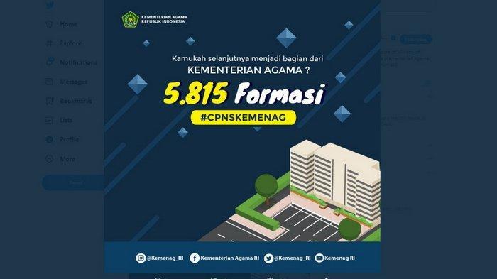 Info CPNS Kemenag: Jadwal dan Lokasi SKD, Ada Syarat Wajib untuk Peserta Tes