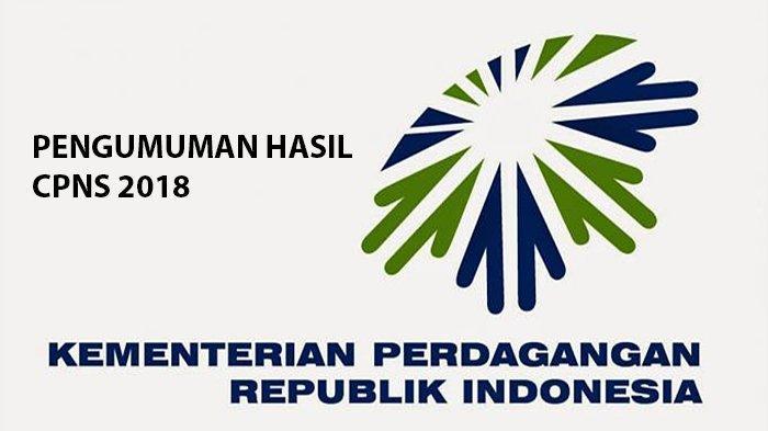 Hasil Akhir Seleksi CPNS 2018 Kementerian Perdagangan Resmi Dirilis, Cek Jadwal Pemberkasan Dokumen