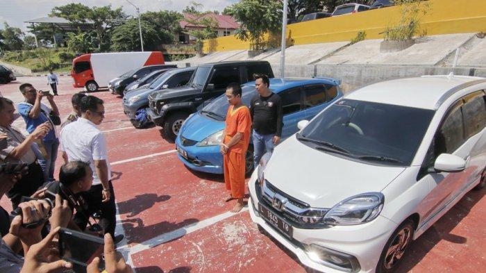 Polda Kaltim Bongkar Sidikat Jual Beli Kendaraan Bodong, Amankan 10 Mobil dan 2 Motor dari Tersangka