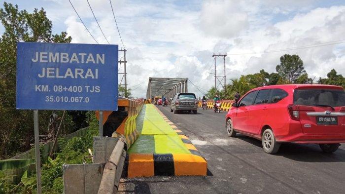 Akses Jembatan Jelarai Kembali Dibuka, Dirlantas Polda Kaltara Ingatkan Tonase Kendaraan
