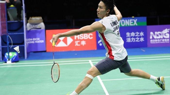 Kejutan di Hong Kong Open 2019, Kento Momota Mundur, Srikanth Kidambi Melenggang ke Babak Kedua