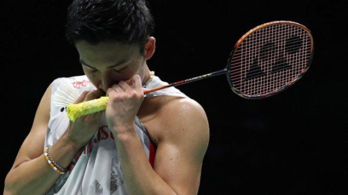 Hasil Denmark Open 2019 Hari Ini, Kento Momota Tumbangkan Chen Long dan Pertahankan Gelar