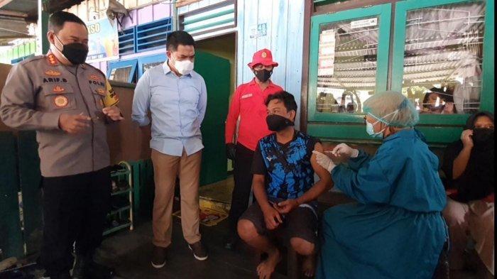 BINDA Kaltim Gelar Vaksinasi Door to Door pada 2 Tempat di Samarinda, Andi Harun Beri Apresiasi