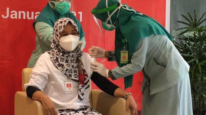 Vaksinasi Sinovac Dosis Kedua di Tahap Pertama untuk Nakes di Kukar Sudah 65 Persen