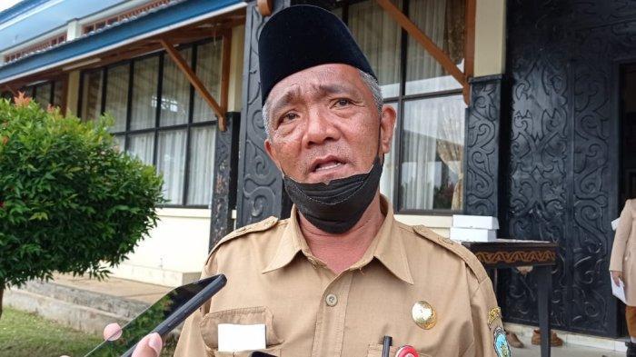 Kepala Dinas Pendidikan Kabupaten Tana Tidung, Jafar Sidik saat ditemui Tribunkaltara.com di Tana Tidung, Kalimantan Utara pada Jumat (21/5/2021).