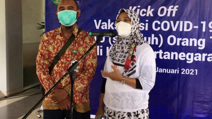 Hari Ini Sejumlah Faskes di Kukar Juga Lakukan Vaksinasi Tenaga Kesehatan