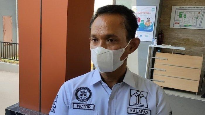 Kepala Lembaga Pemasyarakatan (Lapas) Kelas 1 Tangerang, Victor Teguh Prihartono