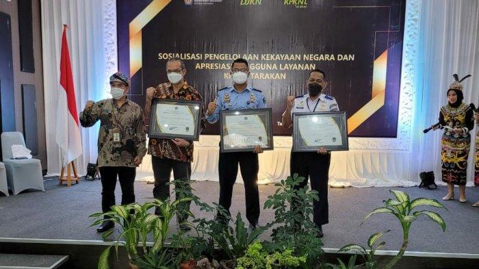Rutan Tanjung Redeb Berau Raih Penghargaan Revaluasi Tercepat dari Kemenkeu