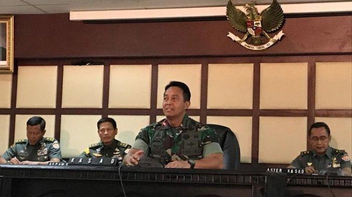 TERPOPULER - Jelang 22 Mei, KSAD Komentari Keterlibatan Purnawirawan Serta Sebut Siagakan Kopassus