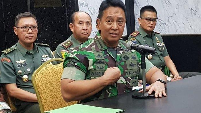 Ultimatum KSAD Andika Perkasa Larang Iuran di Lembaga Pendidikan TNI AD, Ini Resiko Sampai Kedapatan