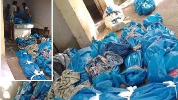 Keluarga Korban Covid-19 Disuruh Temukan Kerabatnya di Tumpukan Mayat yang Dibungkus Kantong Plastik