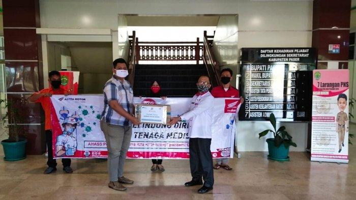 AHASS Bengkel Resmi Honda Berikan Bantuan ke Pejuang Lawan Covid-19 di Kalimantan Timur dan Kaltara
