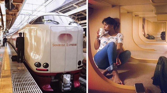 Terlihat Biasa dari Luar, Siapa Sangka Kereta Api Sleeper Ini Punya Desain Interior yang Memukau