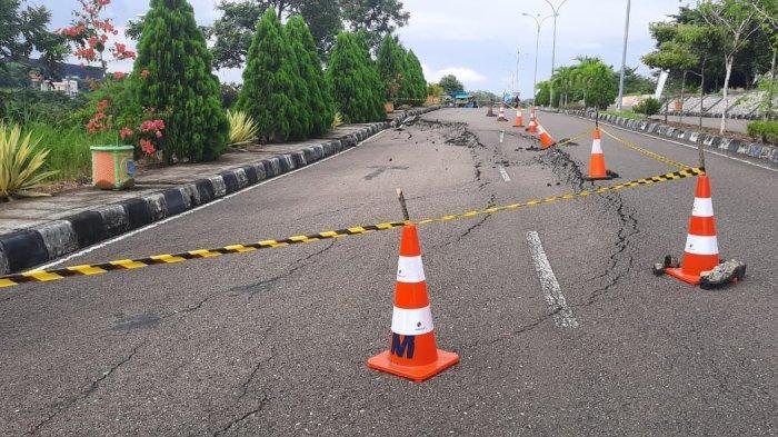 Pemkab Paser Alokasikan Anggaran Rp 1 Miliar Perbaikan Jalan Menuju Kompleks Perkantoran dan RSUD
