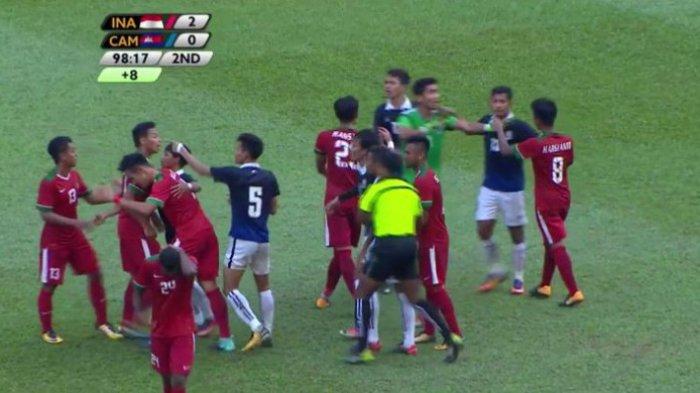 Lebih Tragis dari Indonesia, Kamboja Dibobol 2 Lusin Gol vs Iran di Kualifikasi Piala Dunia 2022
