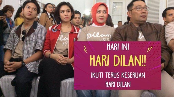 Tagar #HariDilan Jadi Trending Topic Twitter,  Ini Momen Hari Dilan di Gala Premiere Film Dilan 1991