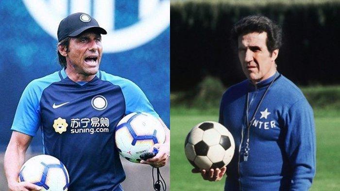 Kesuksesan Conte Bawa Inter Milan ke Puncak Liga Italia Kini Disandingkan dengan Helenio Herrera